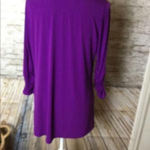 Susan Graver Jackets & Coats - Susan Graver purple jacket